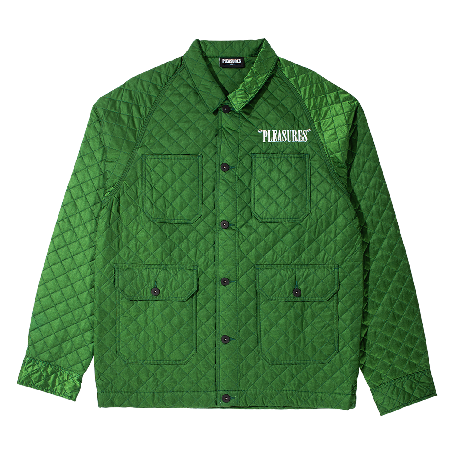 RODMAN QUILTED SATIN CHORE JACKET
