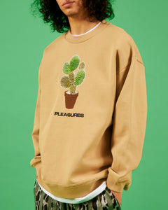 SPIKE EMBROIDERED CREWNECK