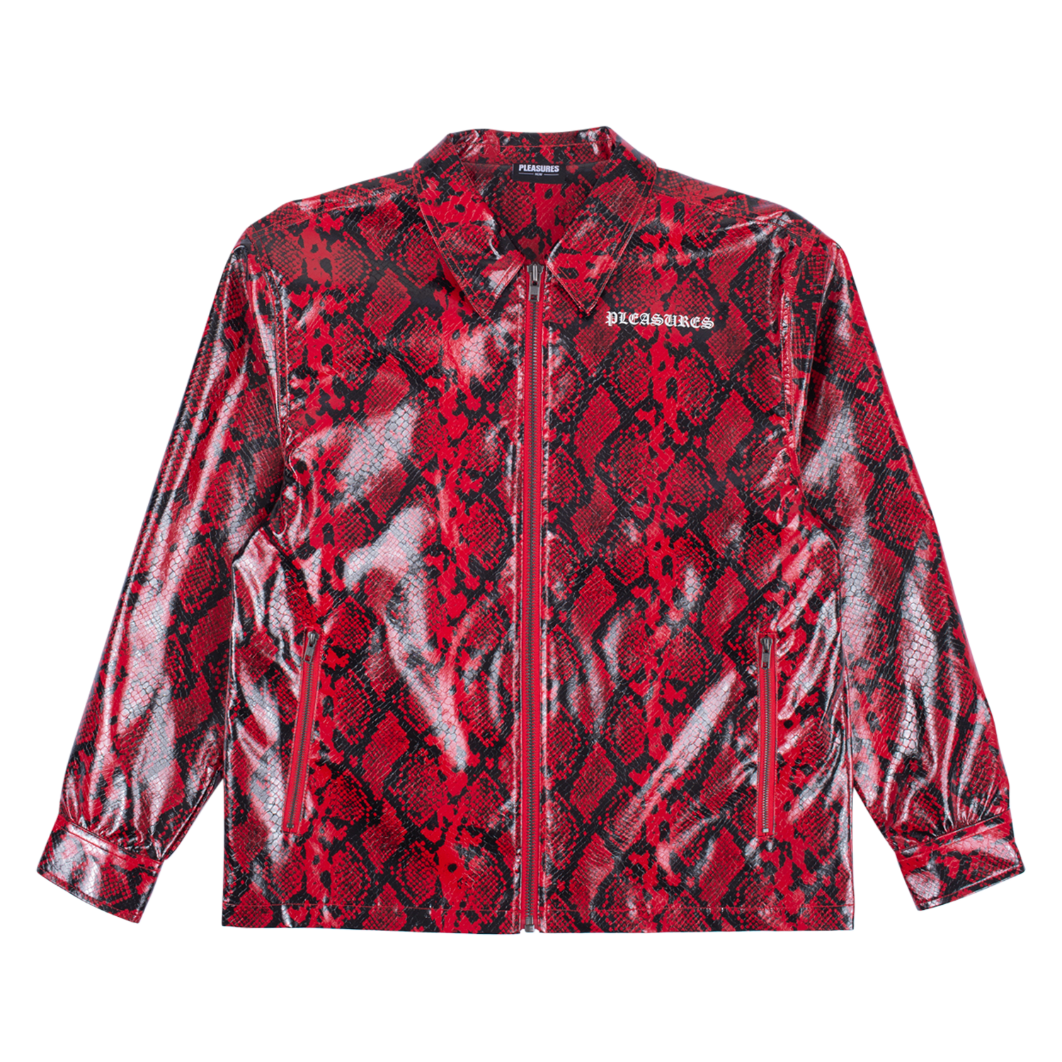 RAIL SNAKESKIN WORK JACKET