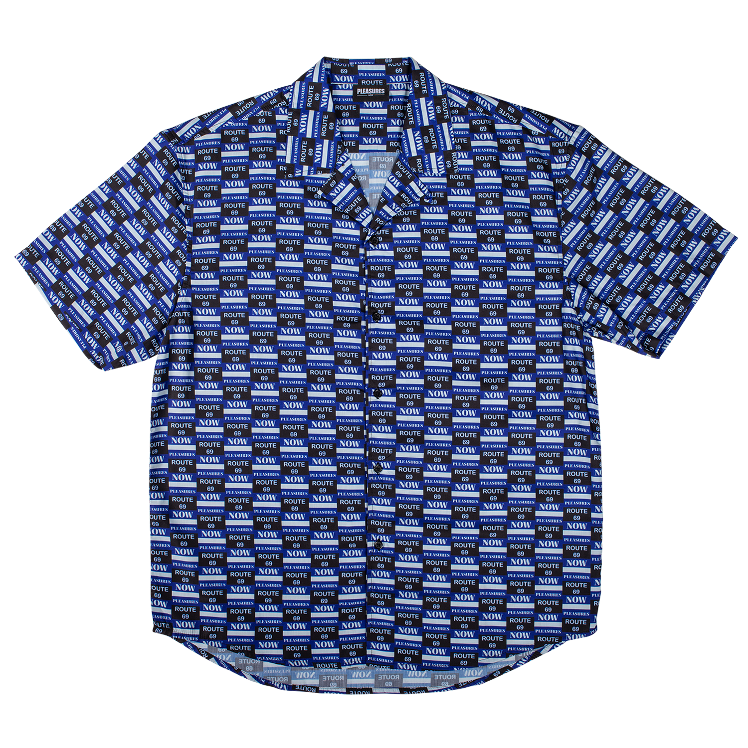 HIGHWAY SHORT SLEEVE BUTTON UP