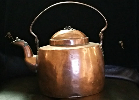 Copper Teakettle, 19th Century