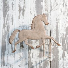 Metal Horse Wall Hanging