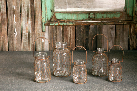 Chickenwire Bottle Collection