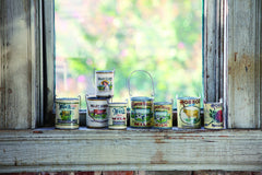 Vintage Milk Cans, Assorted Set of 8