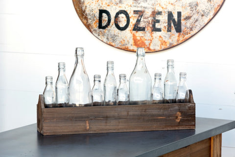 Boxed Bottle Centerpiece