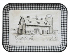 Enameled Barn Tray