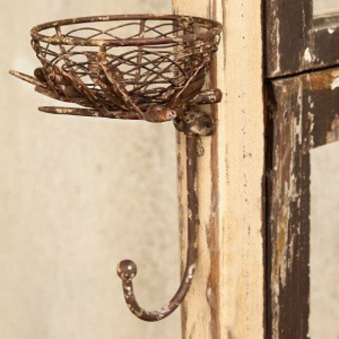 Metal Nest With Hook Hanger