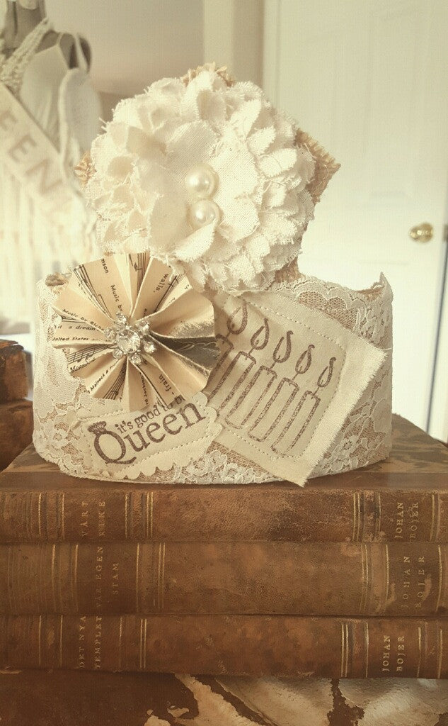 """It's Good to be Queen"" Birthday Crown"