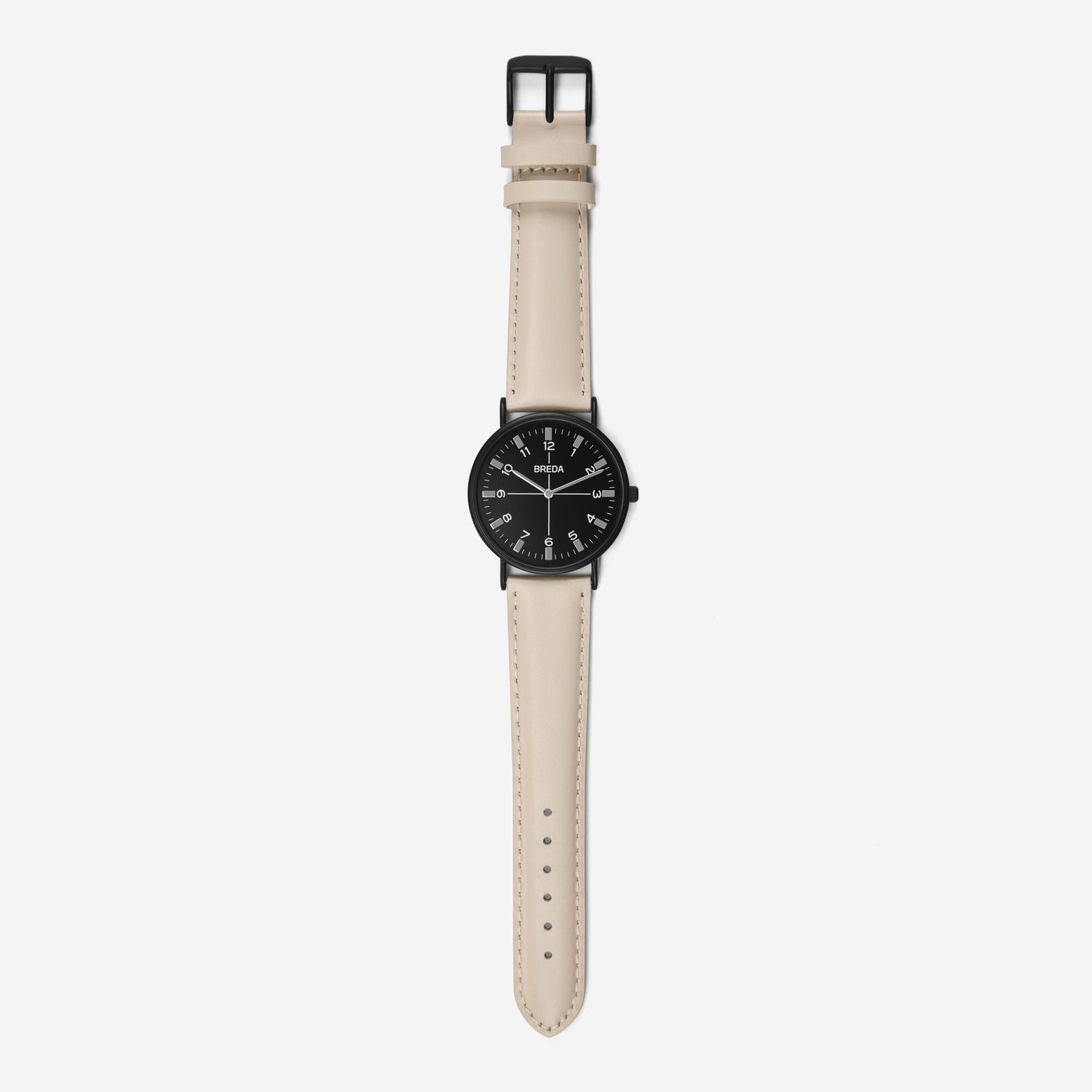 BREDA-Belmont-1646k-Black-Beige-Watch-Long