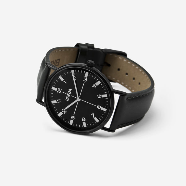 BREDA-Belmont-1646m-Black-Black-Watch-Angle