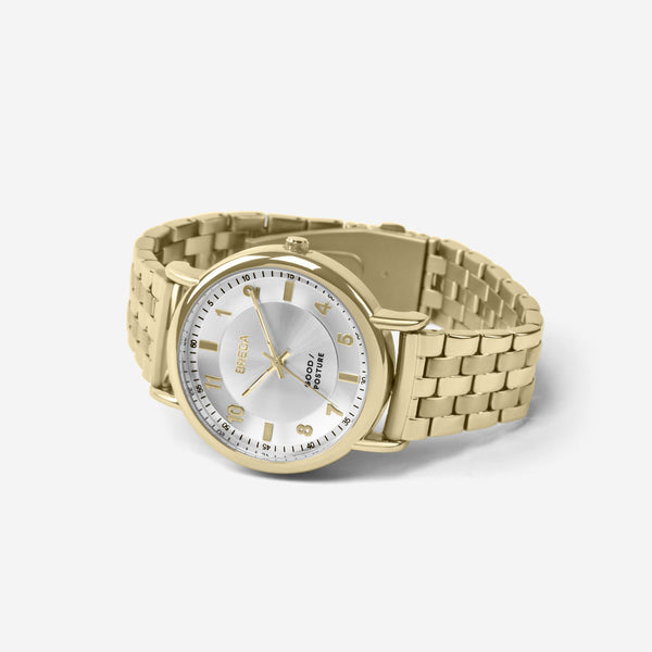 BREDA-Good-Posture-Theophilus-Martins-Blossom-5017d-Gold-Watch-angle