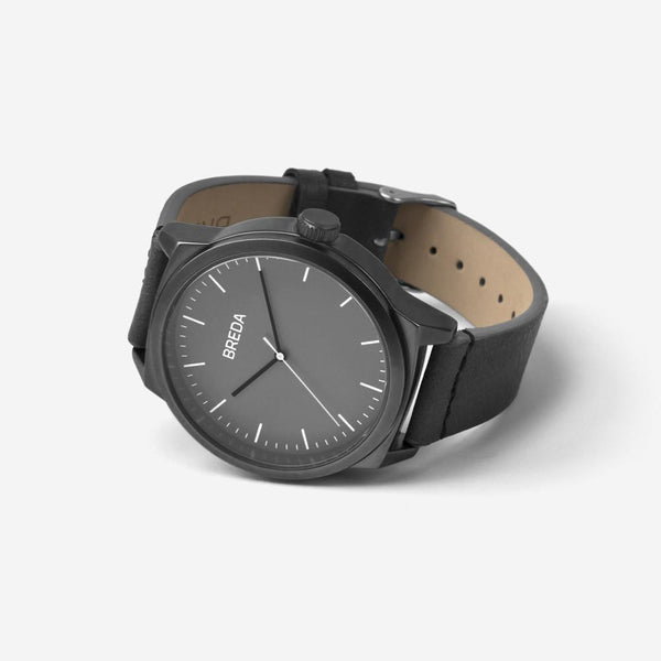 BREDA-Rand-8184F-Gunmetal-Gray-Watch-Angle
