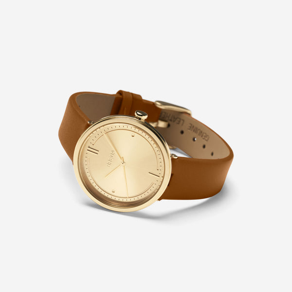 breda-agnes-1733e-gold-brown-leather-watch-angle