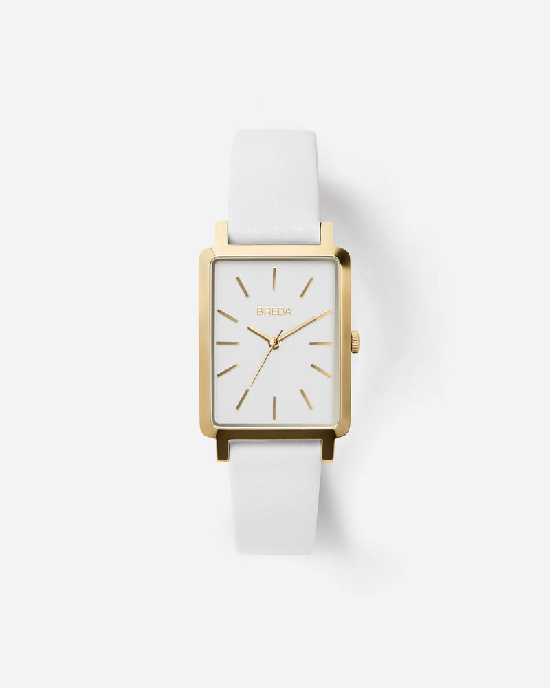 breda-baer-1729b-gold-white-leather-watch-front