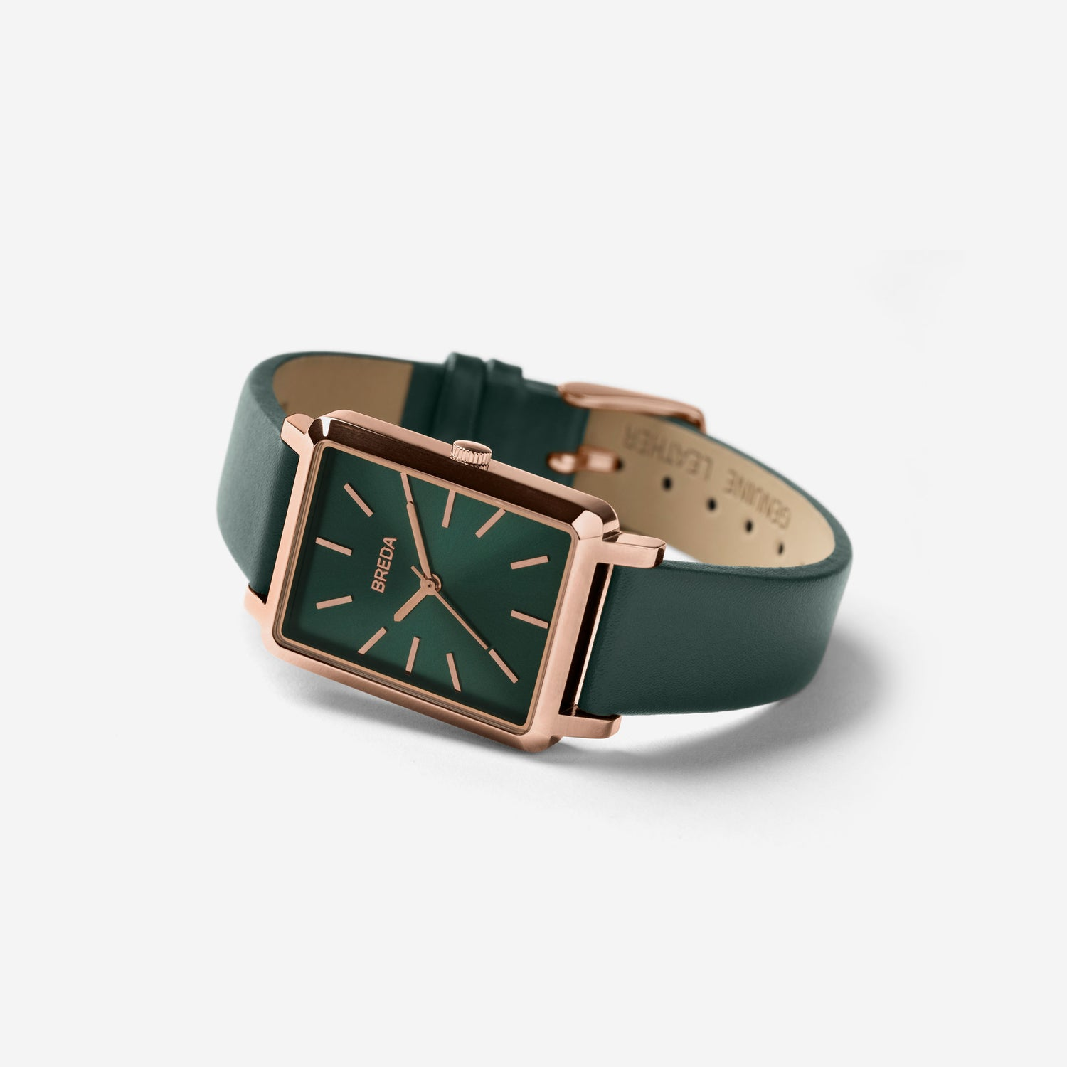 breda-baer-1729c-rose-gold-emerald-leather-watch-angle