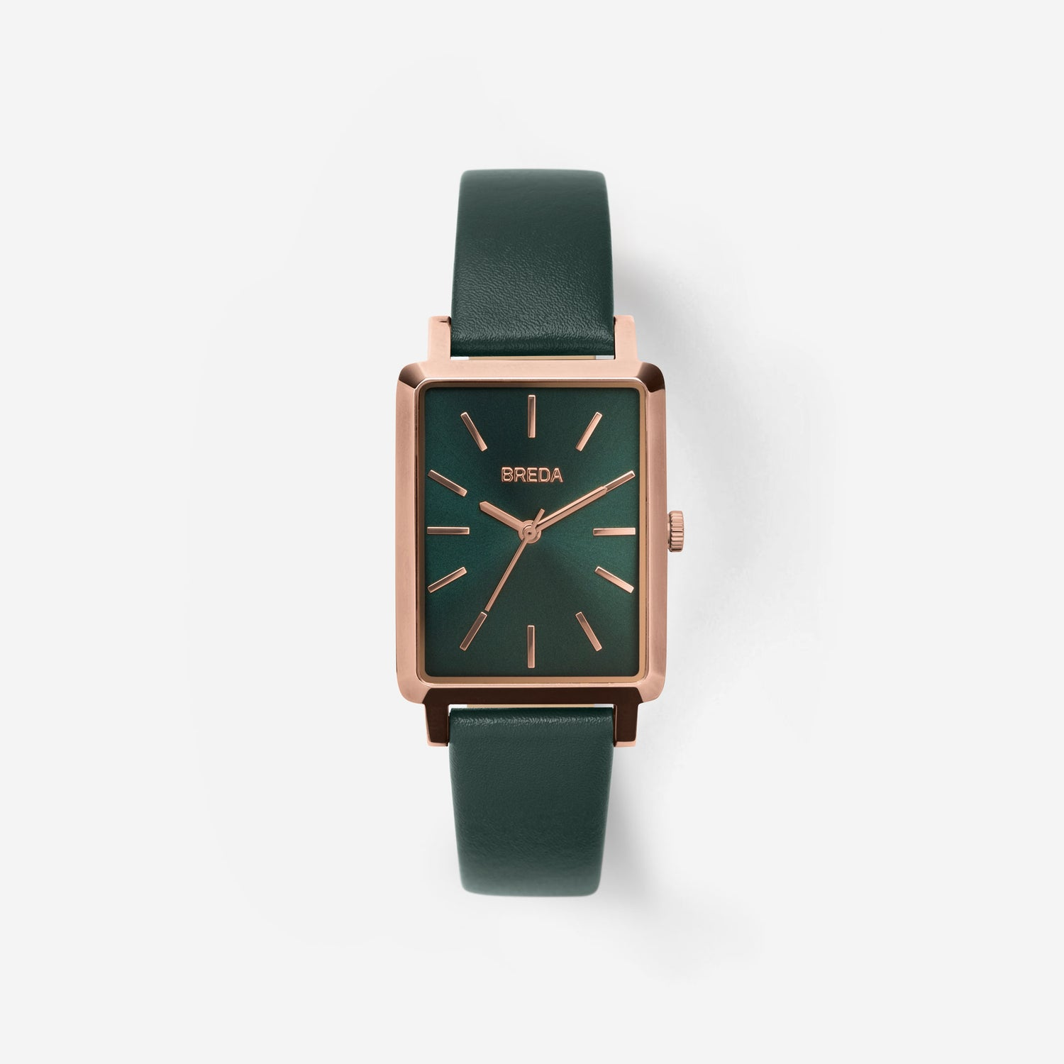 breda-baer-1729c-rose-gold-emerald-leather-watch-front