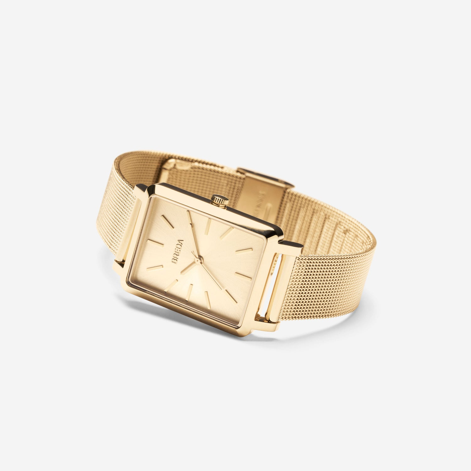 breda-baer-1729f-gold-mesh-watch-angle