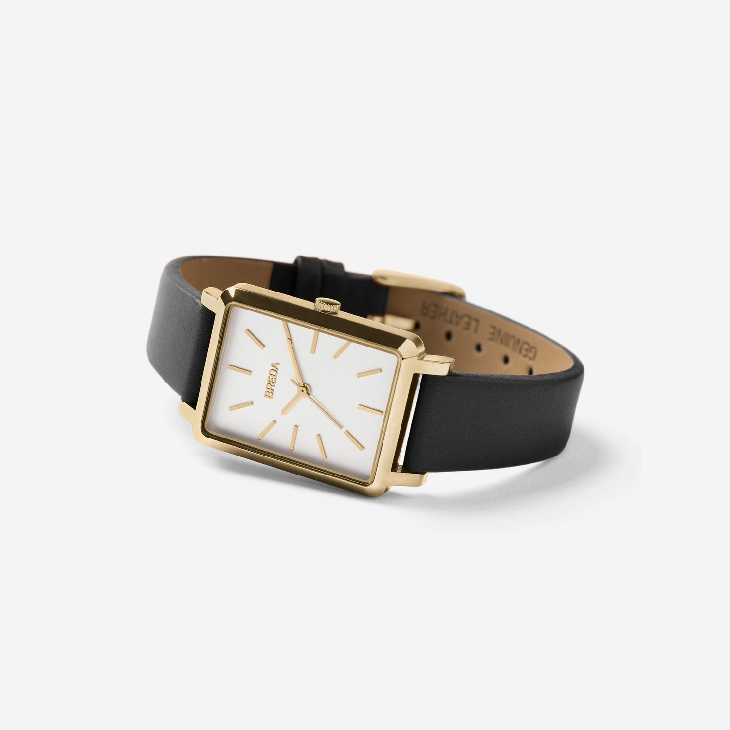 breda-baer-1729k-gold-black-leather-watch-angle