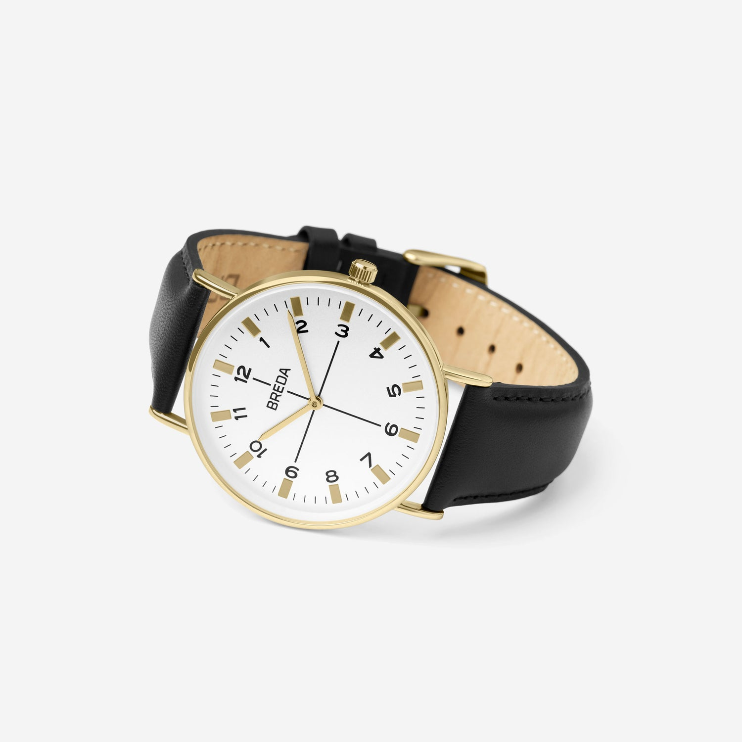 breda-belmont-1646o-gold-black-leather-angle