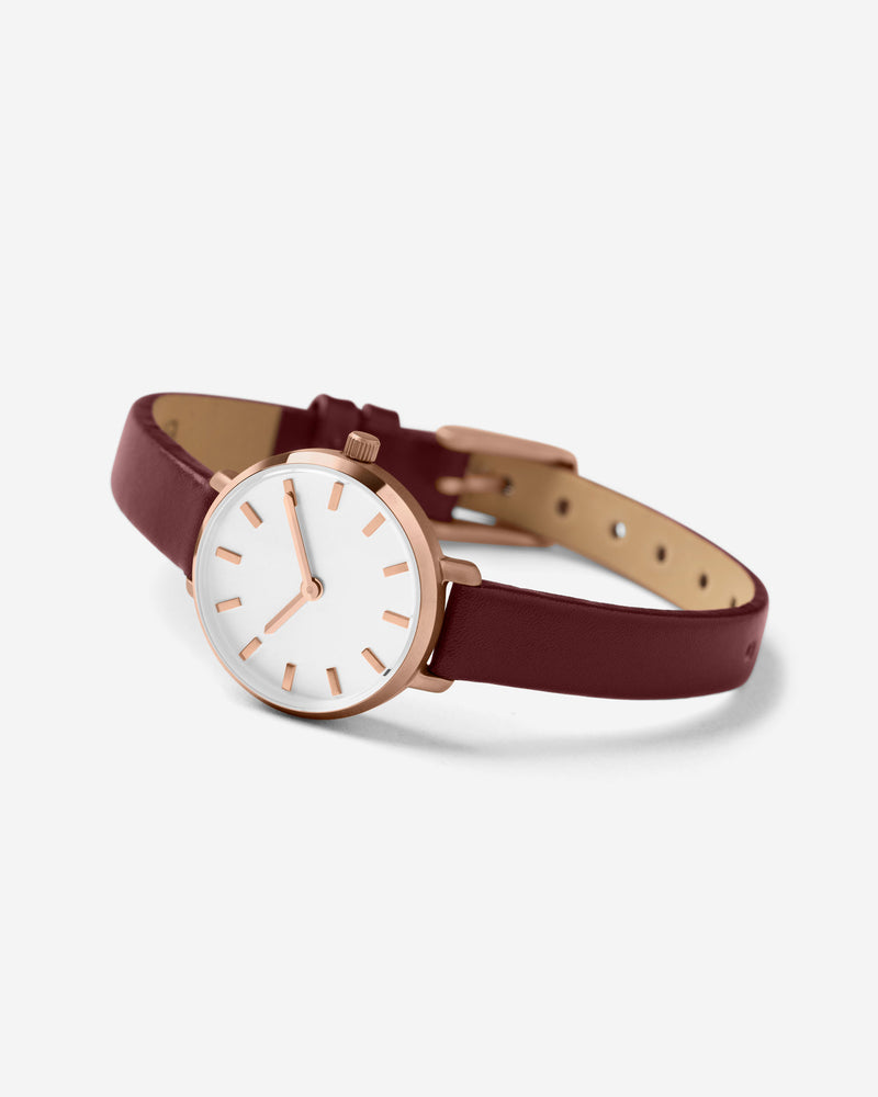 breda-beverly-1730e-rosegold-maroon-leather-watch-angle