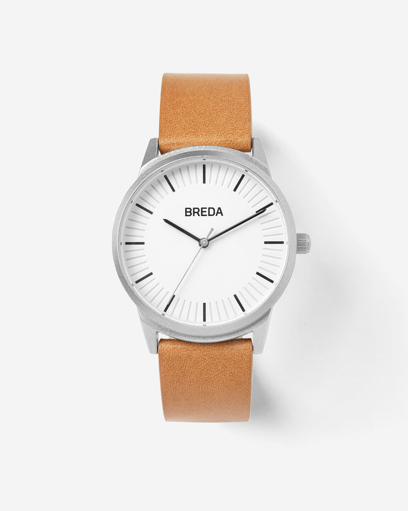 breda-bresson-5020a-silver-brown-leather-front