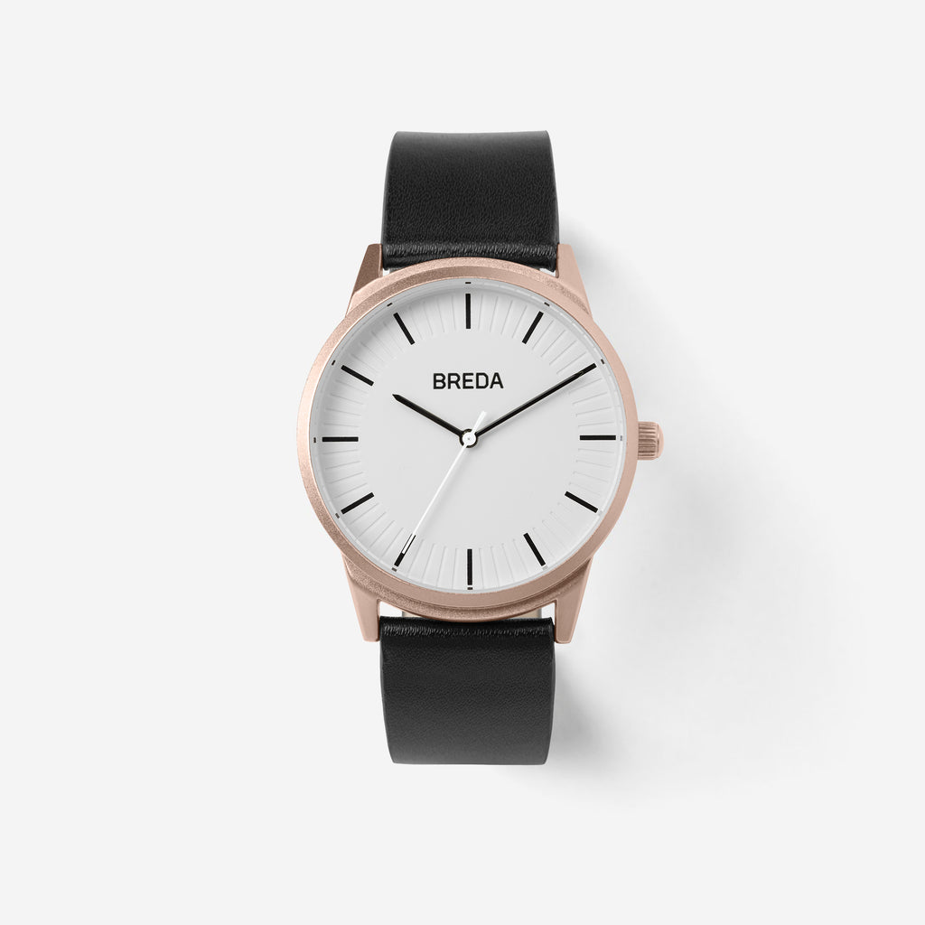 breda-bresson-5020e-rosegold-black-leather-front