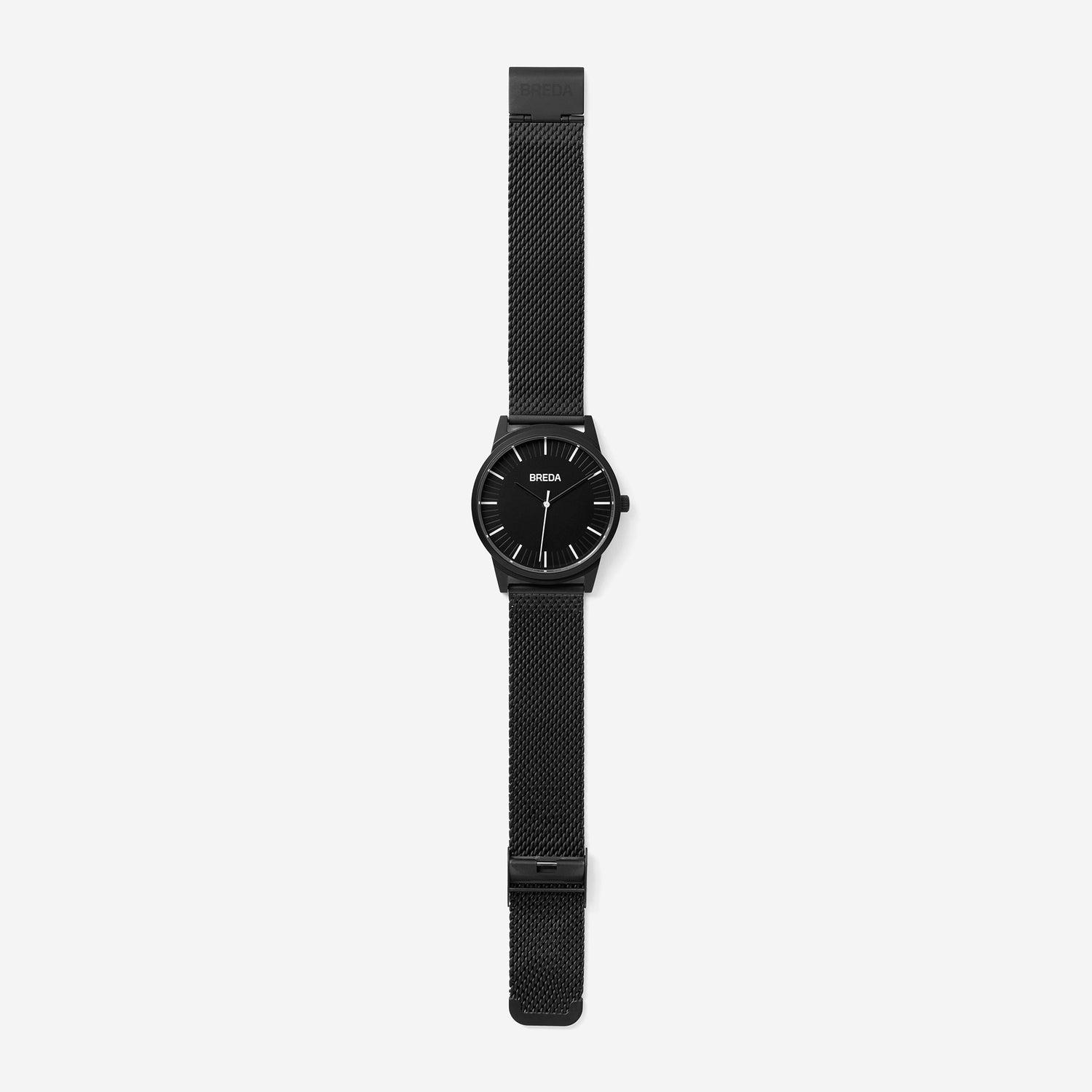 breda-bresson-5020h-black-mesh-watch-long