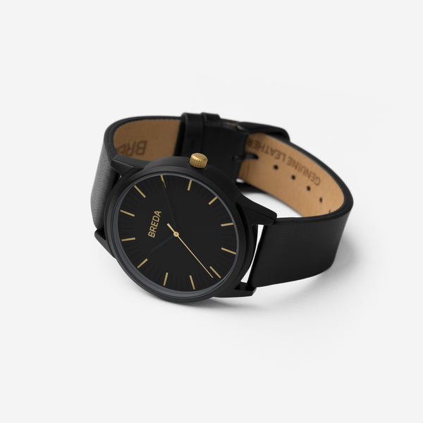 breda-bresson-5020n-gold-black-leather-angle