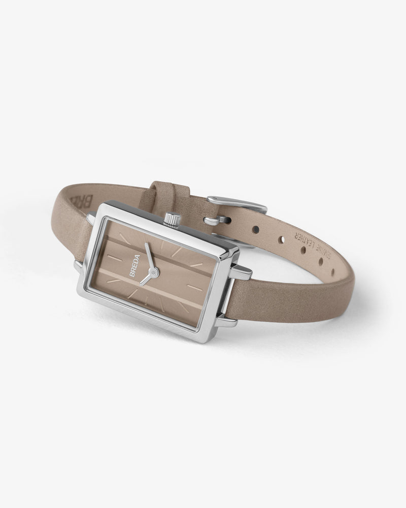 breda-eva-1738e-silver-brown-watch-angle
