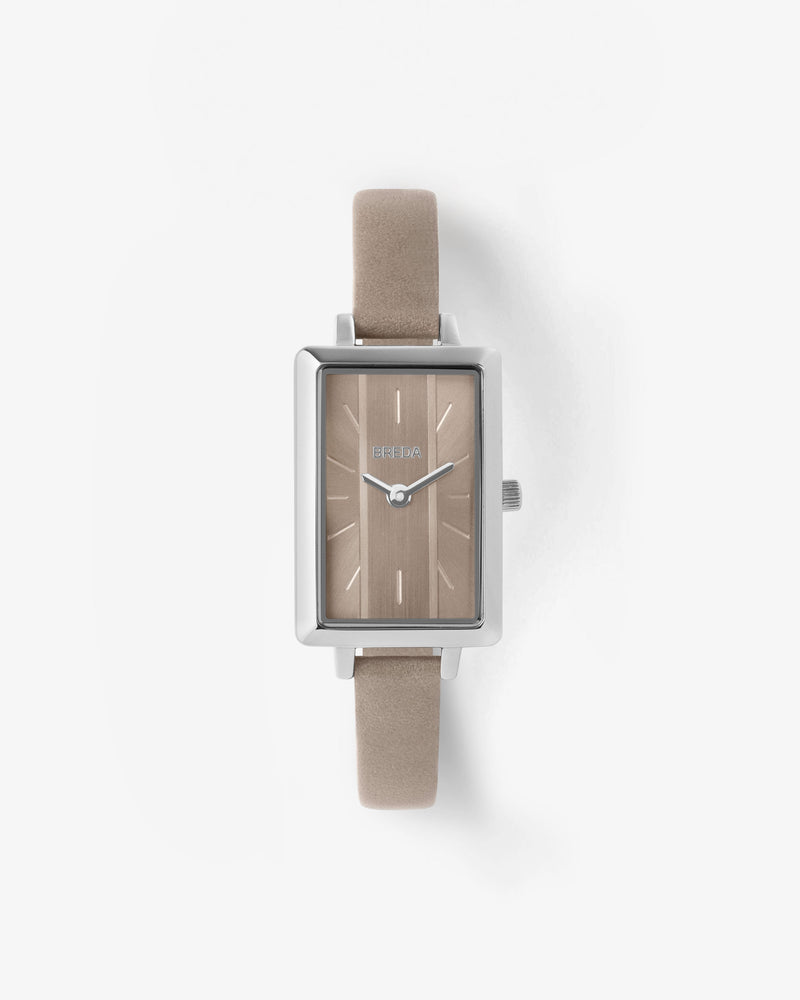breda-eva-1738e-silver-brown-watch-front
