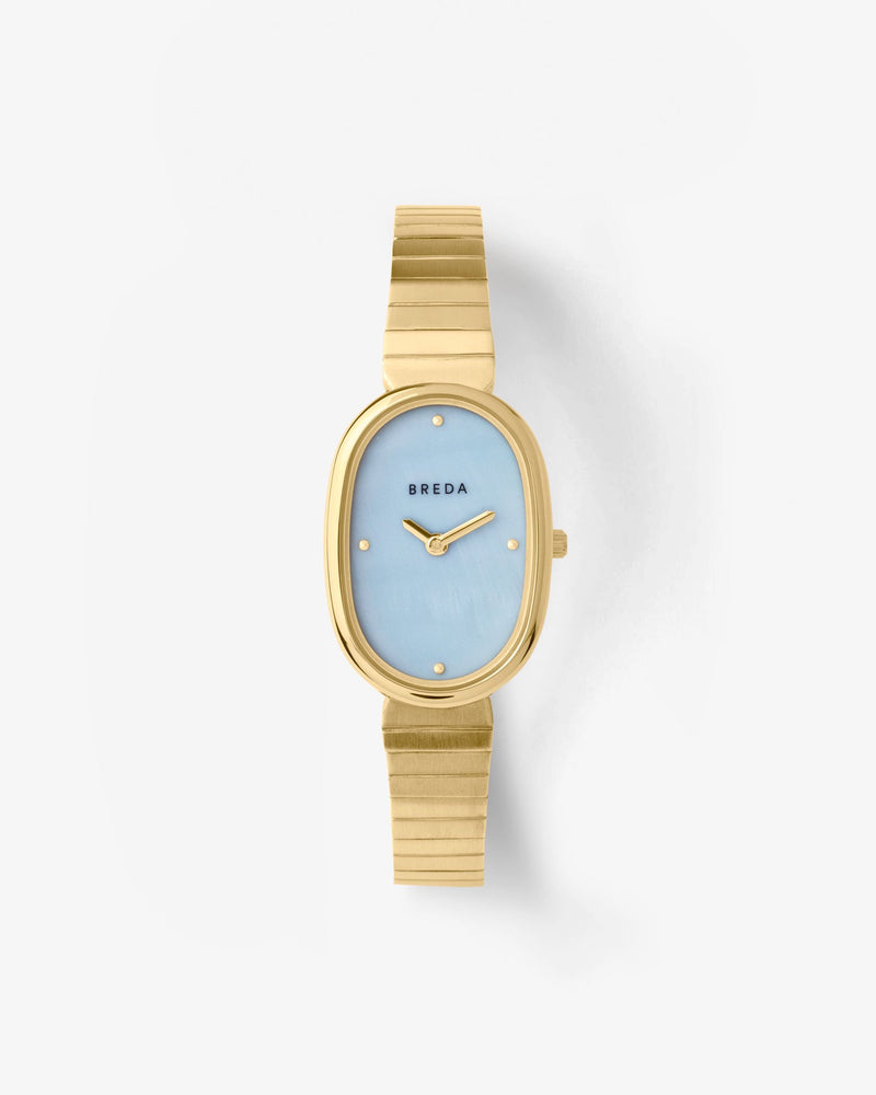 breda-jane-1741c-gold-metal-bracelet-watch-front
