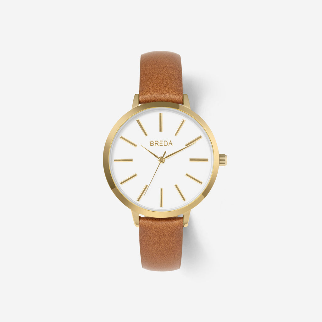 BREDA-Joule-1722h-Gold-Brown-Watch-front