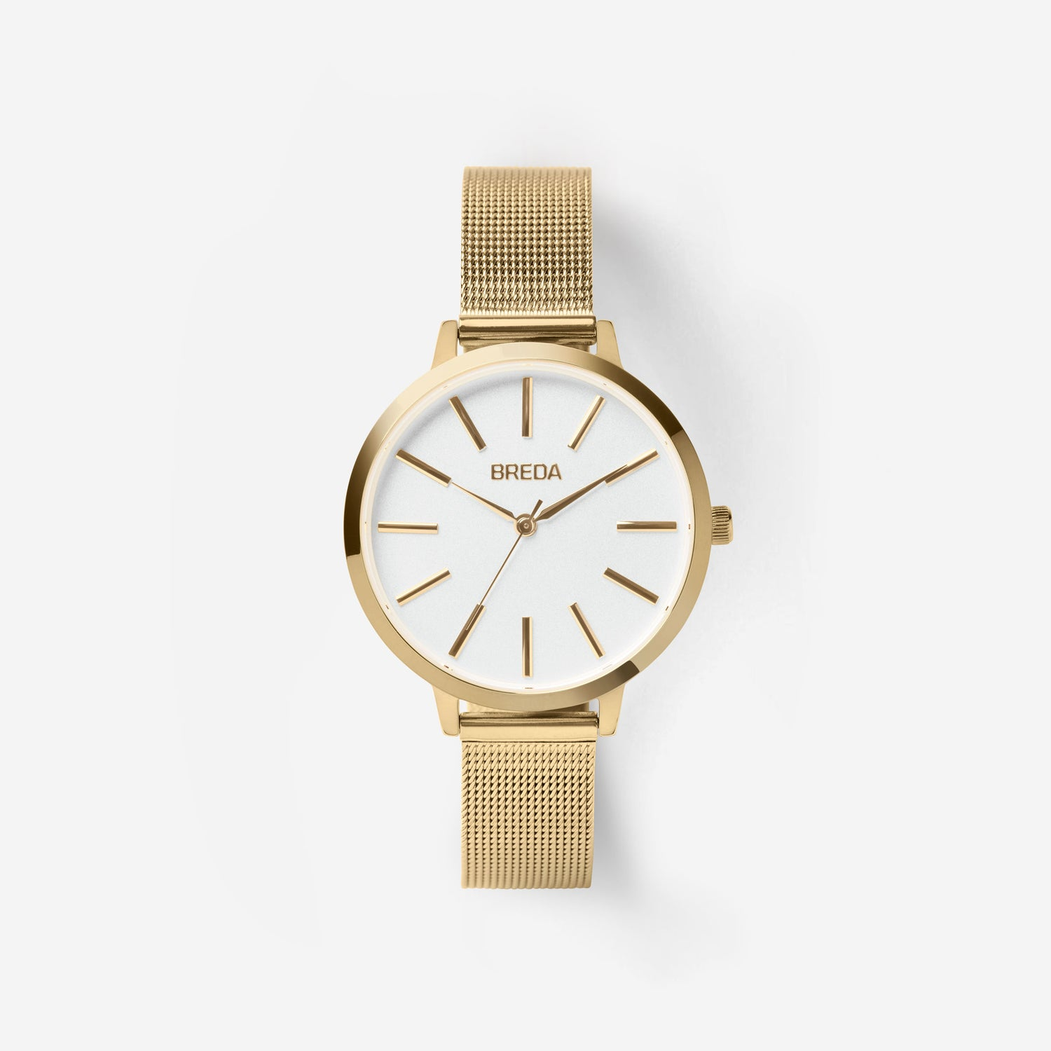 breda-joule-1731a-gold-mesh-watch-front