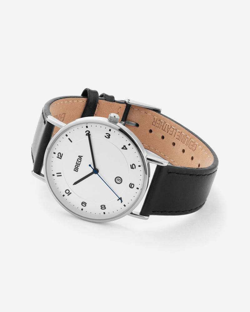 breda-pei-1739a-silver-black-leather-watch-angle