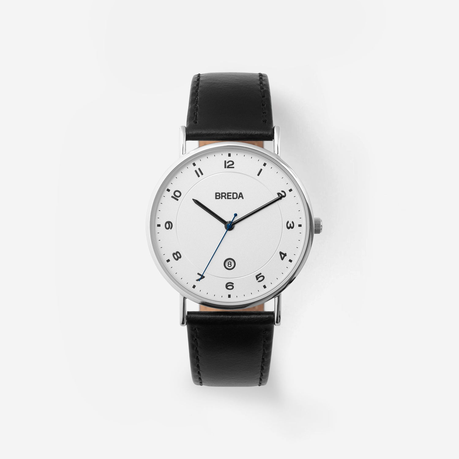 breda-pei-1739a-silver-black-leather-watch-front