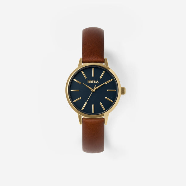 breda-petite-joule-1734b-gold-brown-watch-front