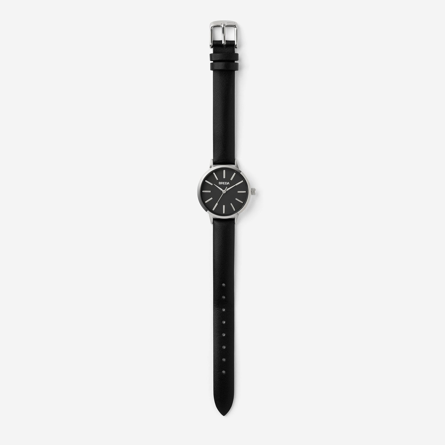 breda-petite-joule-1734d-silver-black-watch-long