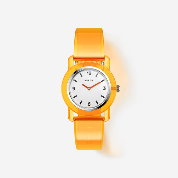 breda-play-1742a-silver-orange-plastic-watch-front