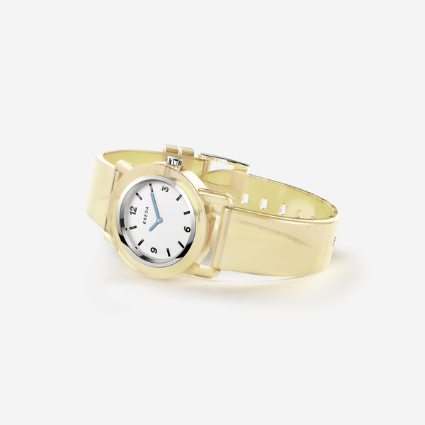 breda-play-1742b-silver-cream-plastic-watch-angle