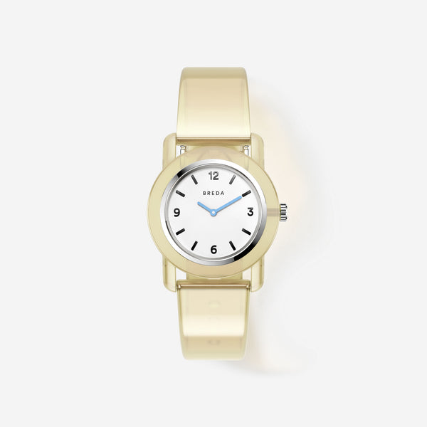 breda-play-1742b-silver-cream-plastic-watch-front