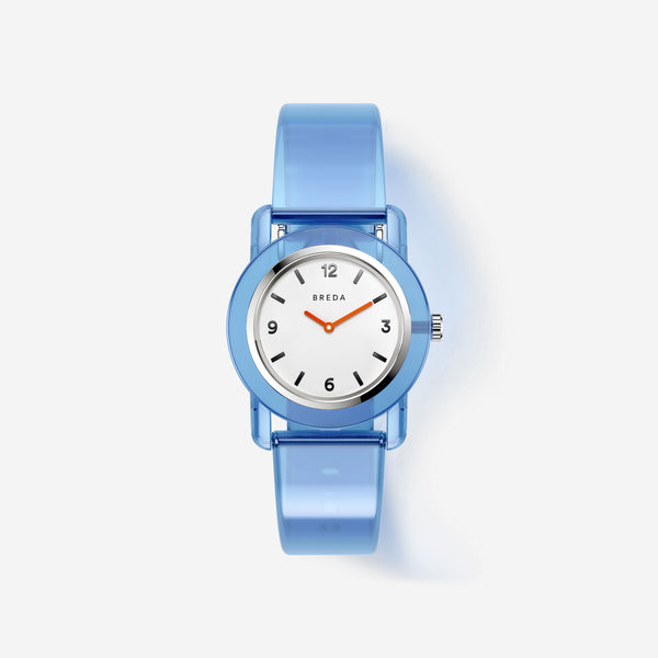 breda-play-1742c-silver-blue-plastic-watch-front