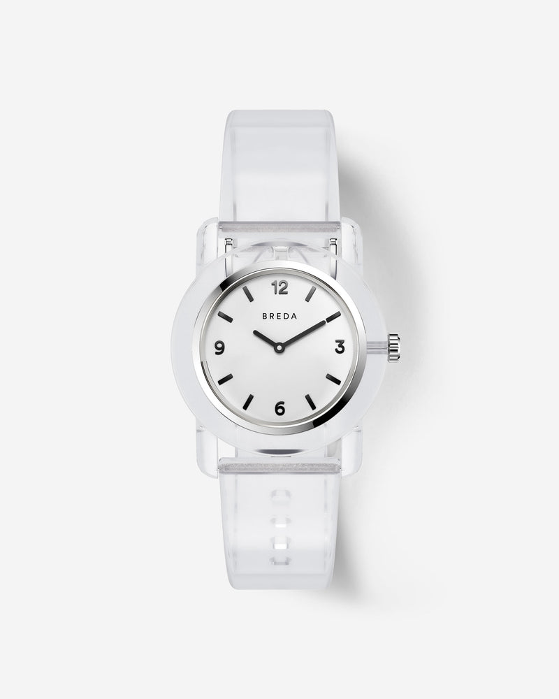 breda-play-1742d-silver-clear-plastic-watch-front