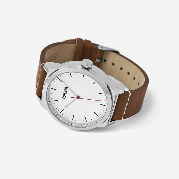 breda-rand-8184b-silver-brown-watch-angle
