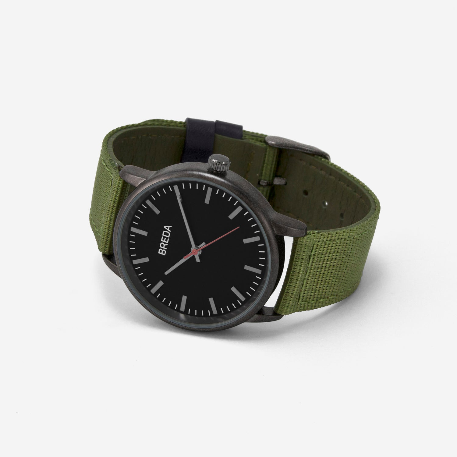 breda-valor-1707b-gunmetal-green-watch-angle