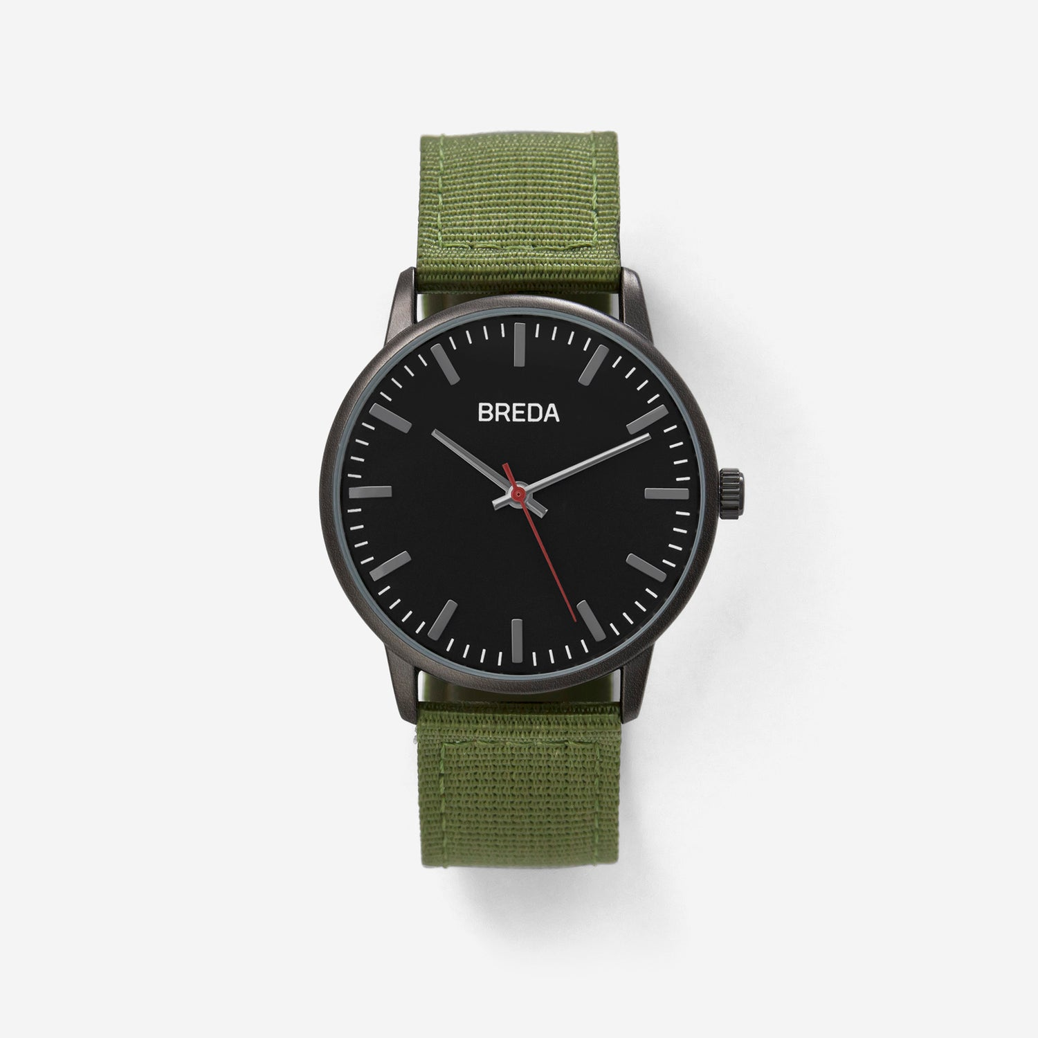 breda-valor-1707b-gunmetal-green-watch-front