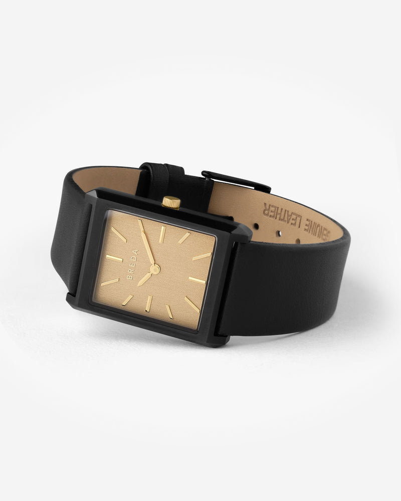 breda-virgil-1736c-gold-black-leather-watch-angle