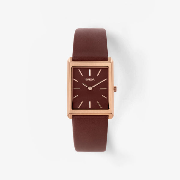 breda-virgil-1736d-rose-gold-brown-leather-watch-front
