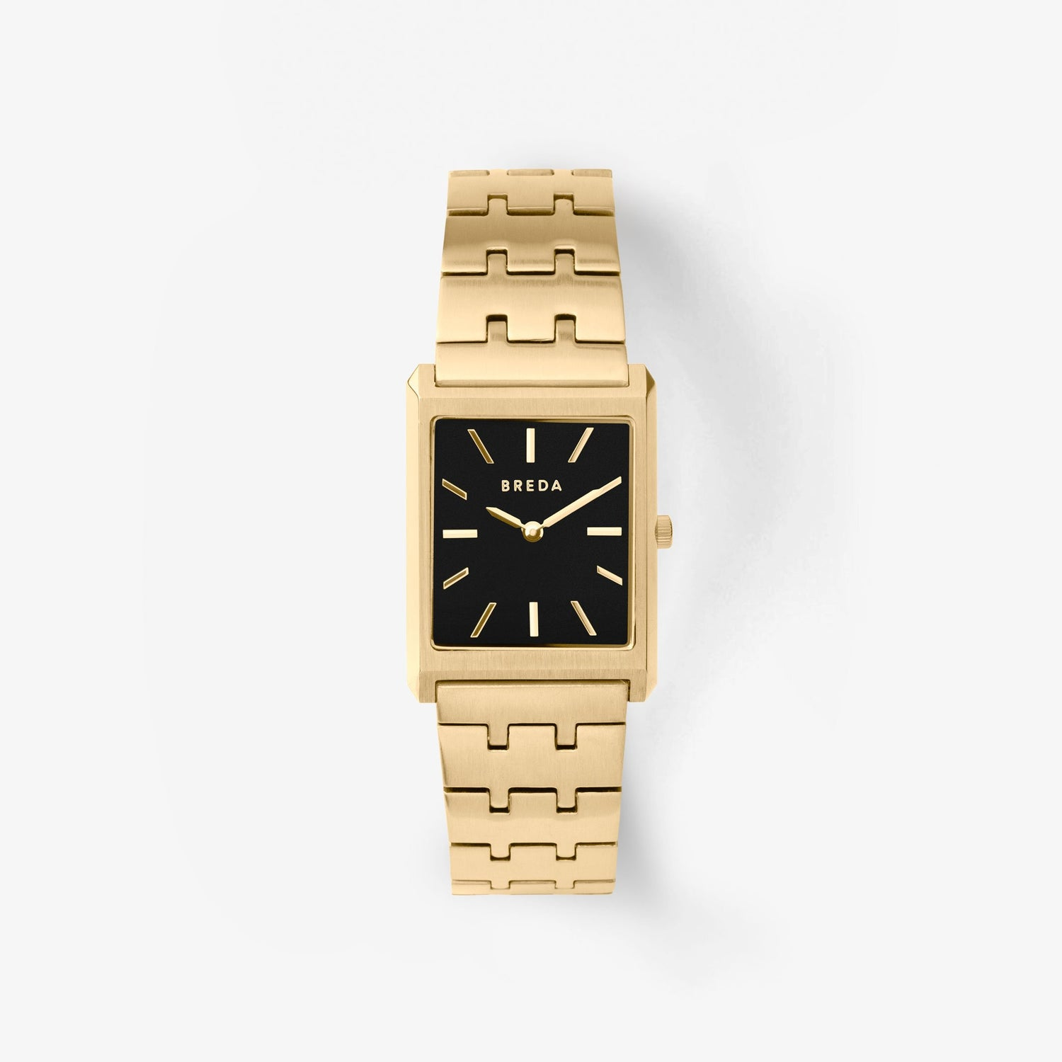 breda-virgil-1740c-gold-metal-bracelet-watch-front