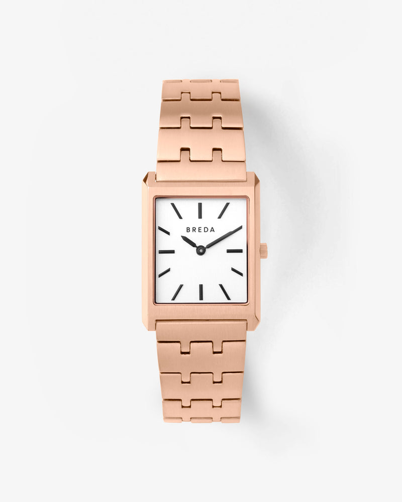 breda-virgil-1740d-rose-gold-metal-bracelet-watch-front