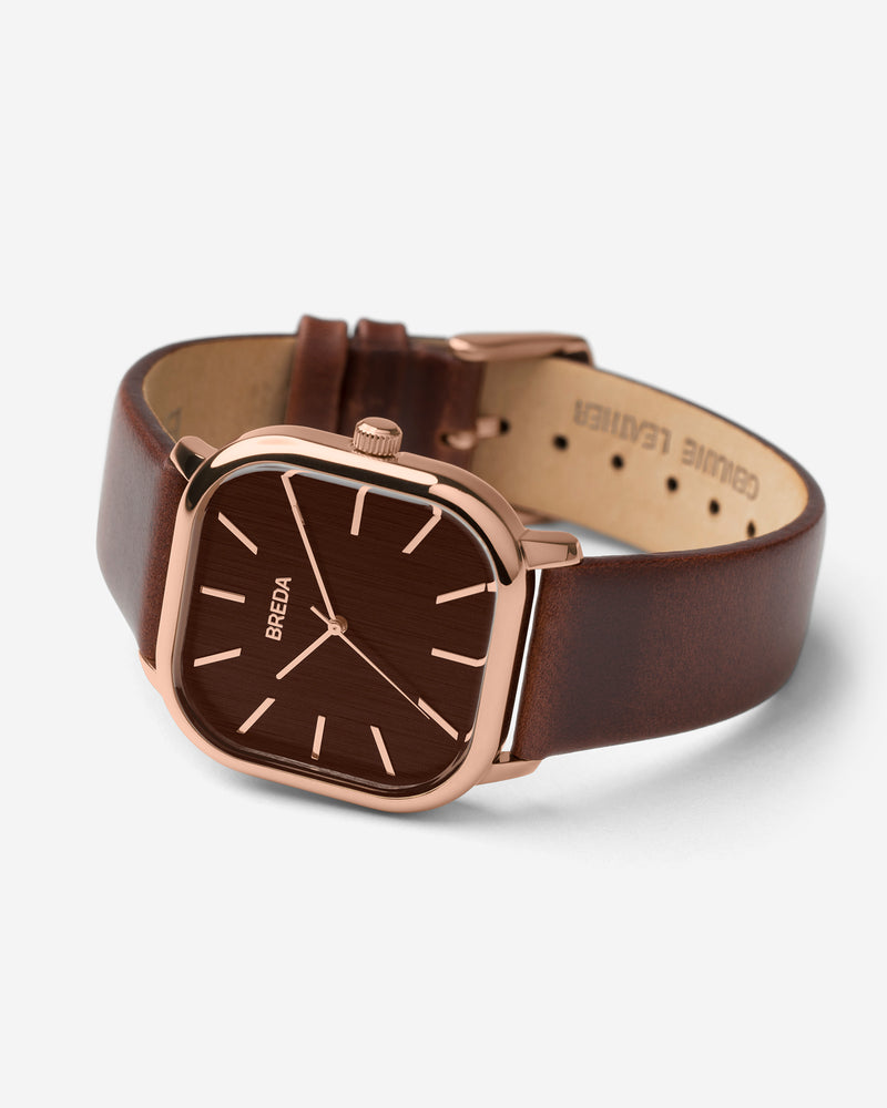 breda-visser-1728f-rose-gold-brown-leather-watch-angle